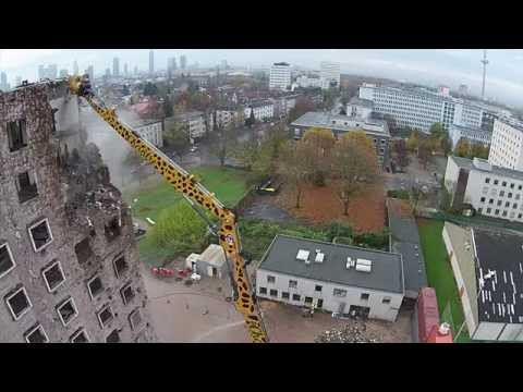 Frankfurt School New Campus - Demolition Begins