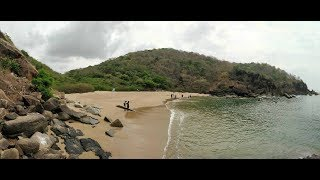 Trek to Butterfly Beach, Goa | One of the Most Beautiful Beach |