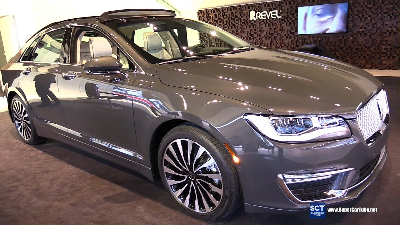 2017 Lincoln Mkz 3 0t Awd Exterior And Interior Walkaround 2016 Detroit Auto Show You
