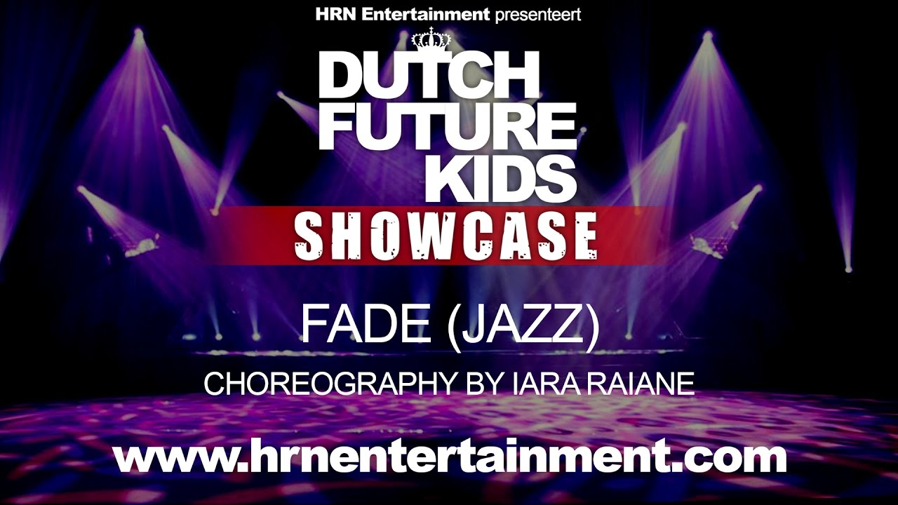 Dutch Future Kids Showcase 2017 | FADE (Jazz) | Iara Raiane
