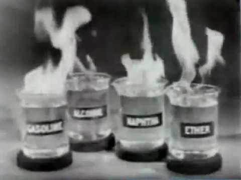 Chemistry of Fire 1947 Department of Defense