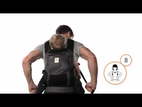 How Do I Back Carry in the Ergobaby Carrier?