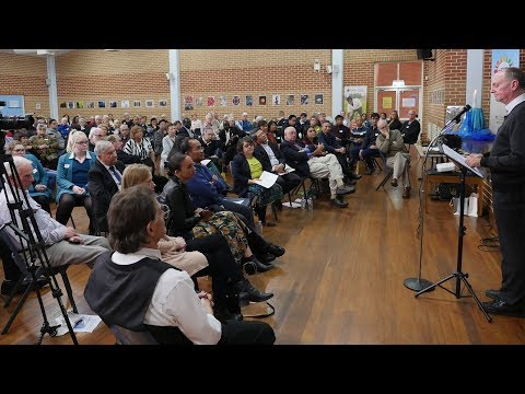 """Fr Thomas Smolich SJ's address to Launch of """"Walking with Refugees and People Seeking Protection"""""""
