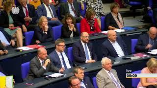 Bundestag: Chemnitz dominiert Generalaussprache des Bundestages