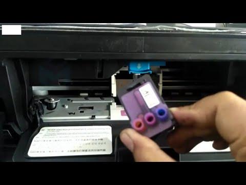 Ganti Cartridge Hp Deskjet GT5810 | Replace Hp Deskjet Cartridge
