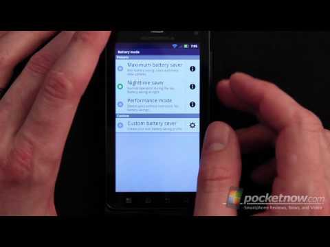 Verizon Motorola Droid 3 Software Tour