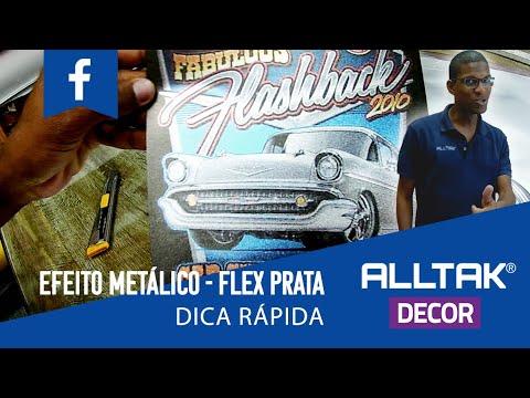EFEITO METÁLICO | DICA RÁPIDA | FLEX PRATA