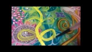 Gentle: Whimsical Mixed Media Speed Paint