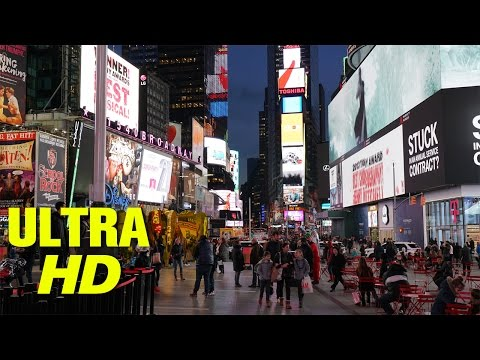 Times Square at Night in 4K