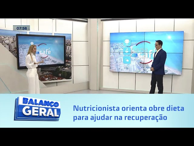 Pausa do Café: nutricionista orienta obre dieta para ajudar na recuperação da COVID-19