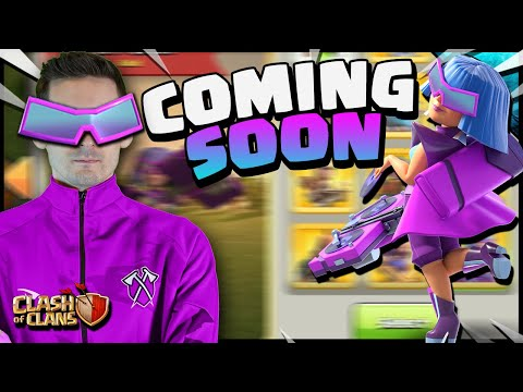 The NEWEST Party Queen is COMING to Clash of Clans!! Sneak Peek!!