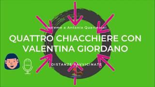 Quattro chiacchiere con...Valentina Giordano