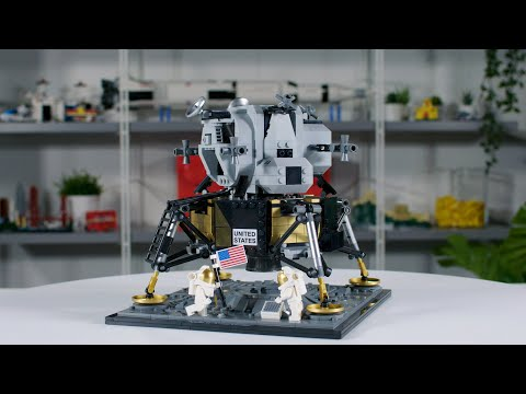 LEGO Lunar Lander Designer Video Review #10266