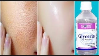 Use Glycerin This Way Your Skin Will Look So Young, Tight, Spotless & Scar Free!