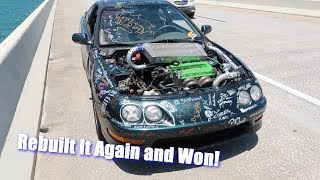 The Demo Teggy Broke Down, We Rebuilt It and Won!