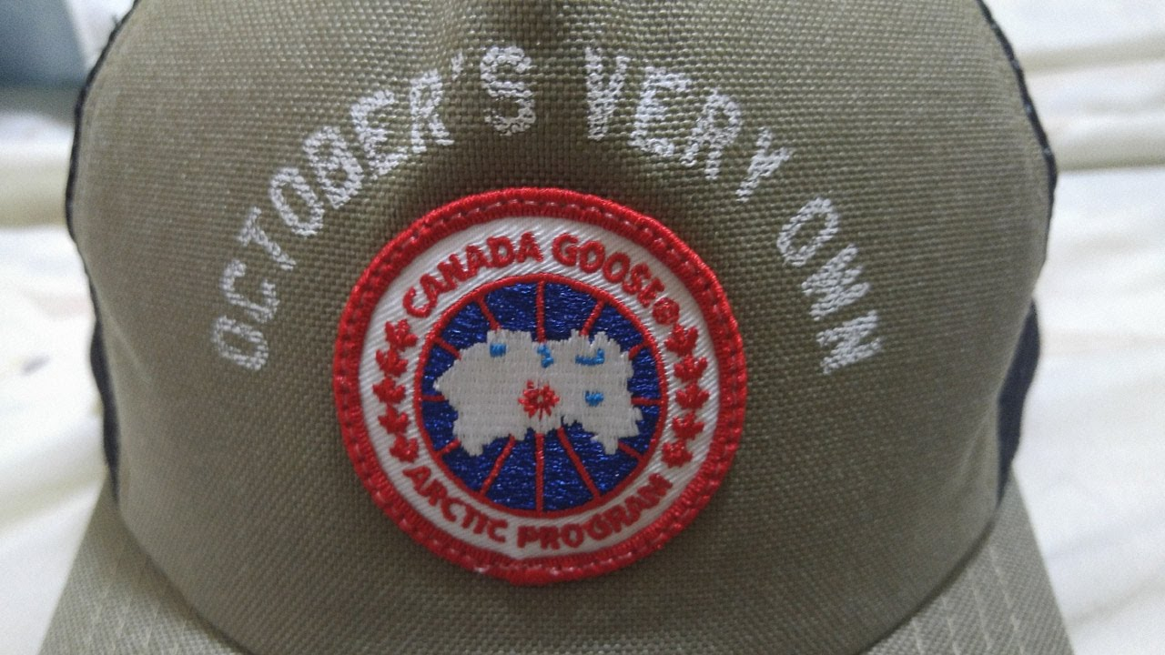 910d5c364f050 OVO Canada Goose Trucker Hat Review - YouTube