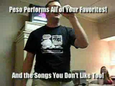 Peso Sings!