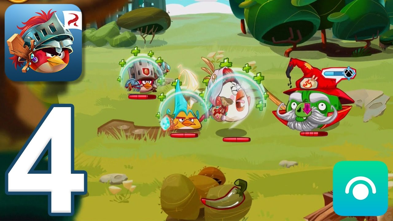 Angry Birds Epic RPG - Gameplay Walkthrough Part 4 - Matilda's Garden, Puzzle Bridge (iOS, Andr