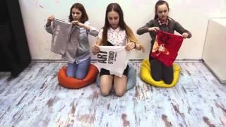 OPEN KIDS  Как красиво сложить футболку   Видео уроки УМЕЛЫЕ #КИДСЕРЫ