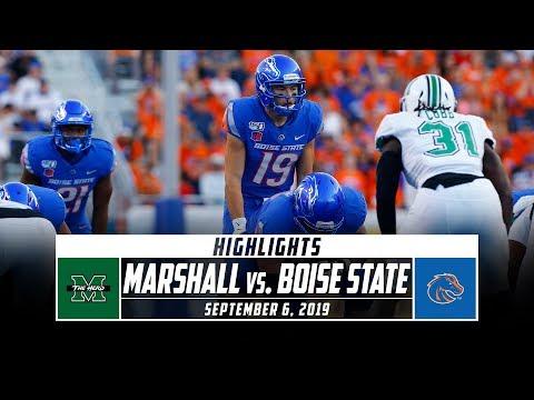 Marshall vs. No. 24 Boise State Football Highlights (2019) | Stadium