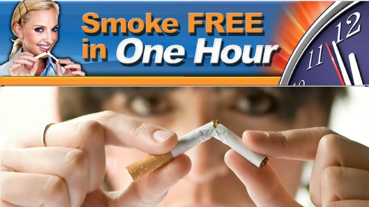 Quit Cigarettes forever | Smoke Free In One Hour program - YouTube