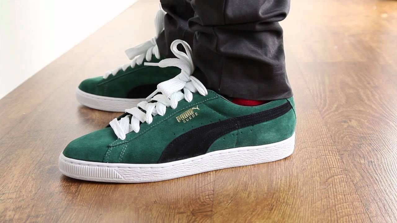 Buy puma suede black and green - 64% OFF! Share discount 4b6808548d