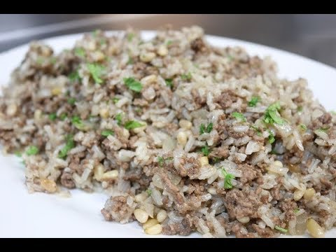 How To Make Lebanese Hashweh Rice