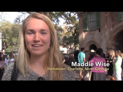Accepted Student Weekend at the College of Charleston