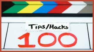 100 Filmmaking Tips in 10 minutes | The Film Look