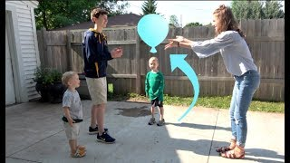 WATER BALLOON TOSS CHALLENGE (W/THAT'S AMAZING) | Match Up