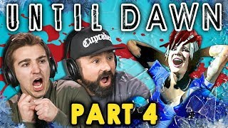 connectYoutube - HORROR HOUSE! | UNTIL DAWN - Part 4 (React: Let's Plays)