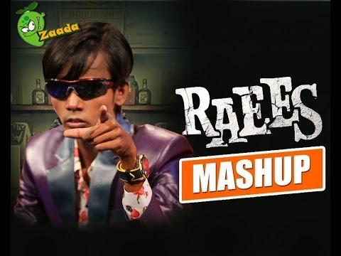 Raees Trailer Mashup Feat. Hero Alom Bogra | Shah Rukh Khan Funny Mashup