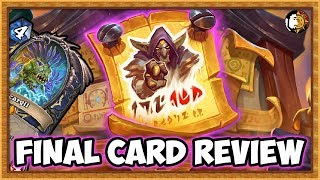 Hearthstone: Rise of Shadows (Final Card Review)