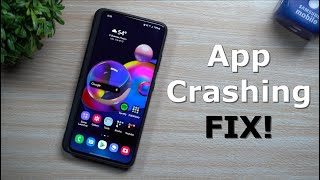 Apps Crashing! Here's The Simple Fix