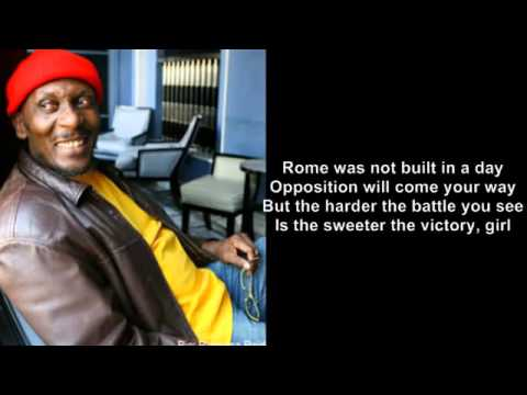You can get it if you really want - Jimmy Cliff (lyrics)