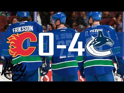 Canucks vs Flames   Highlights   Pre-Season   Oct. 6, 2016 [HD]