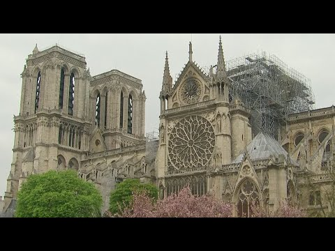 Watch live: Crews assess damage after fire ravages Notre Dame