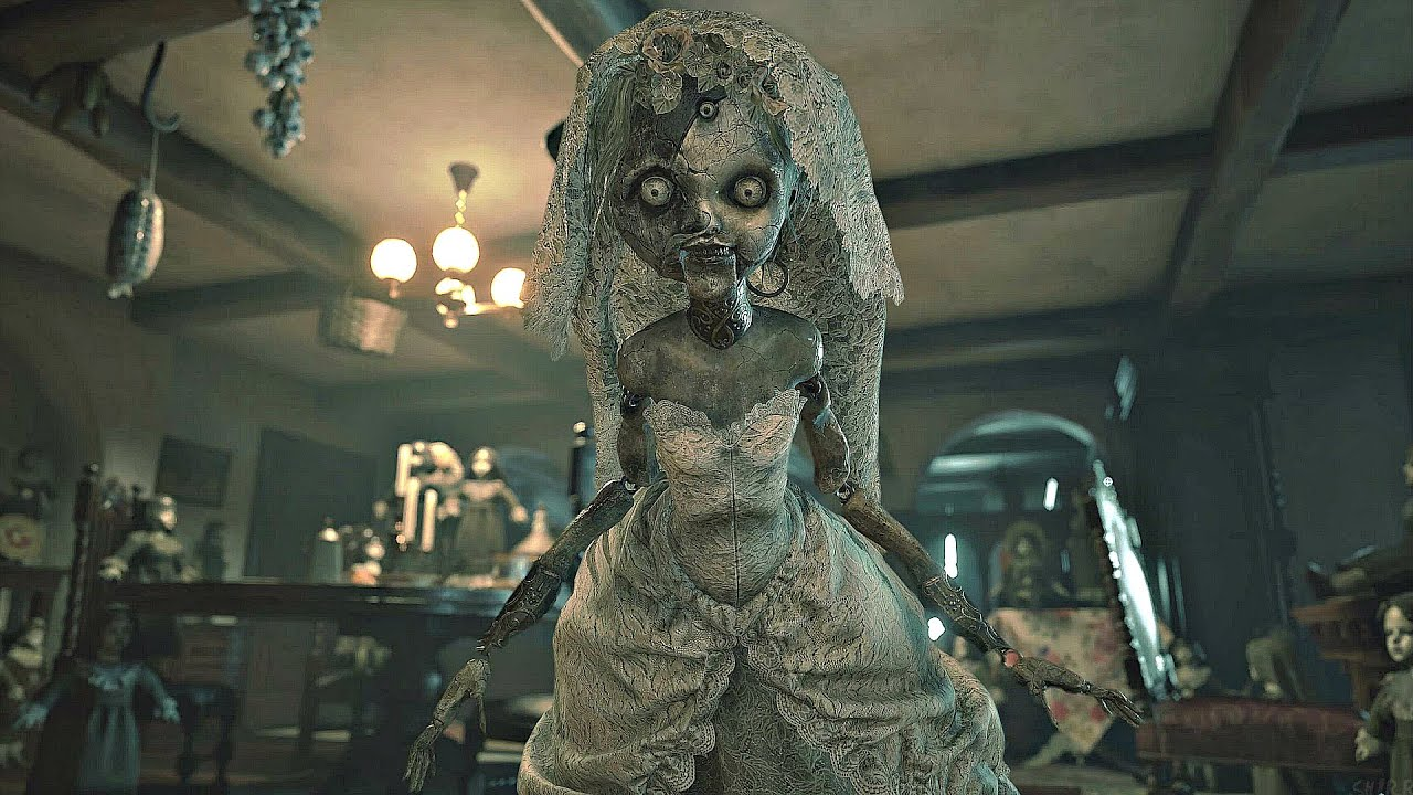 Resident Evil 8 Village - Donna Beneviento & Angie Boss Fight (4K 60FPS) -  YouTube