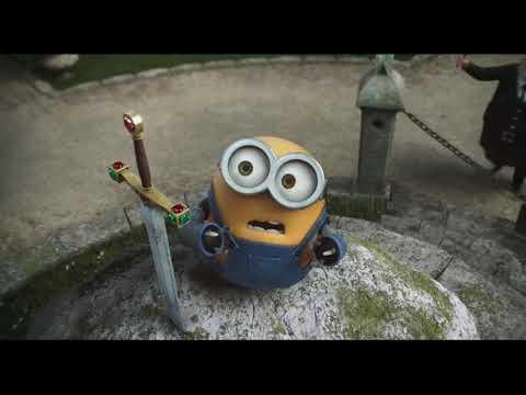 Minions Bob becomes king.