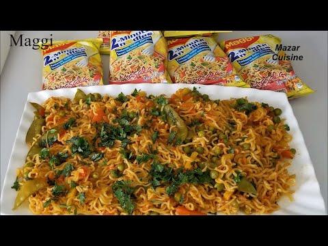 Maggi Recipe, Easy And Fast Food Recipe Maggi Noodles Recipe Noodles Recipe