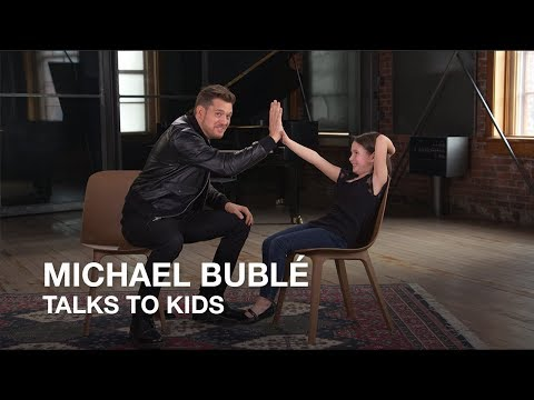 Michael Bublé talks to kids | Juno Awards 2018