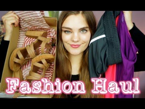 FASHION HAUL ♡  Fitness Klamotten, Abschlussballkleid, Schuhe