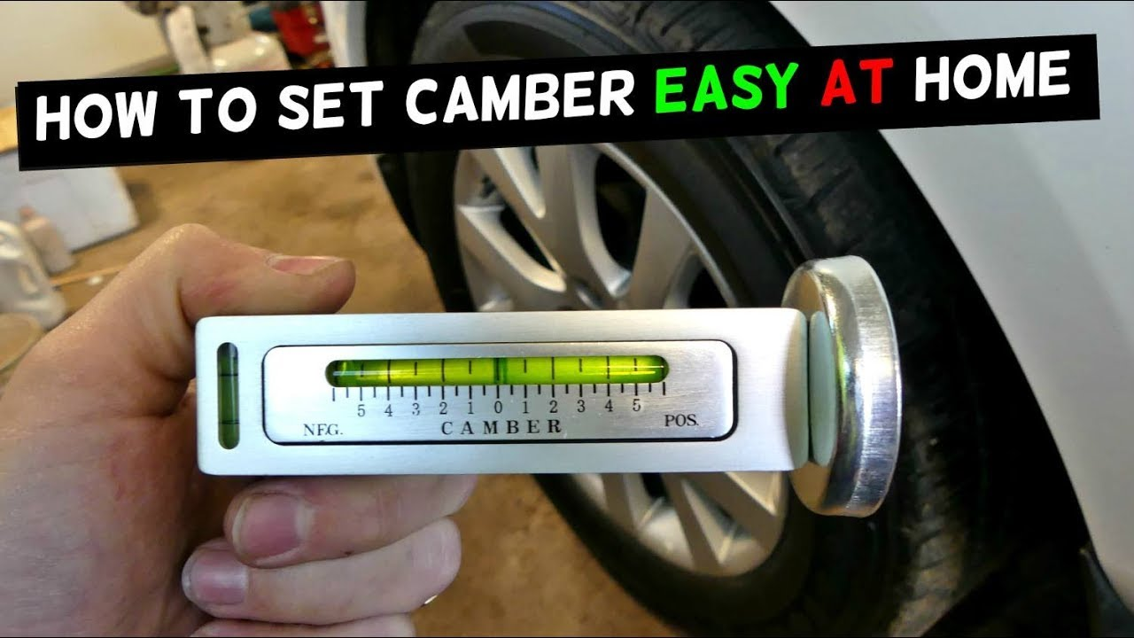 How To Use Cheap Camber Tool How To Set Camber Youtube
