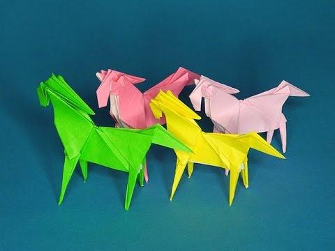 折り紙シアター『うま』 The origami theatre horse