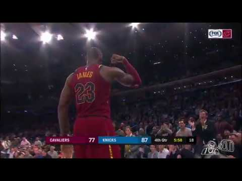 Tall Rudy Gay with one of the worst games of his career against the Cavs (2017)