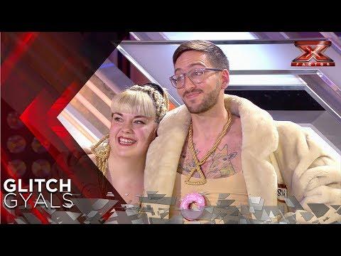 ¡Cómeme el donut! Glitch Gyals arrasa con su tema original | Audiciones 1 | Factor X España 2018