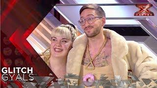 Cmeme el donut Glitch Gyals arrasa con su tema original Audiciones 1 Factor X Espaa 2018