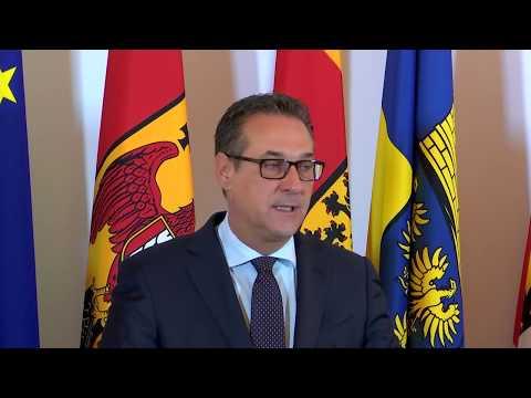 Pressegespräch von Bundeskanzler Kurz und Vizekanzler Strache