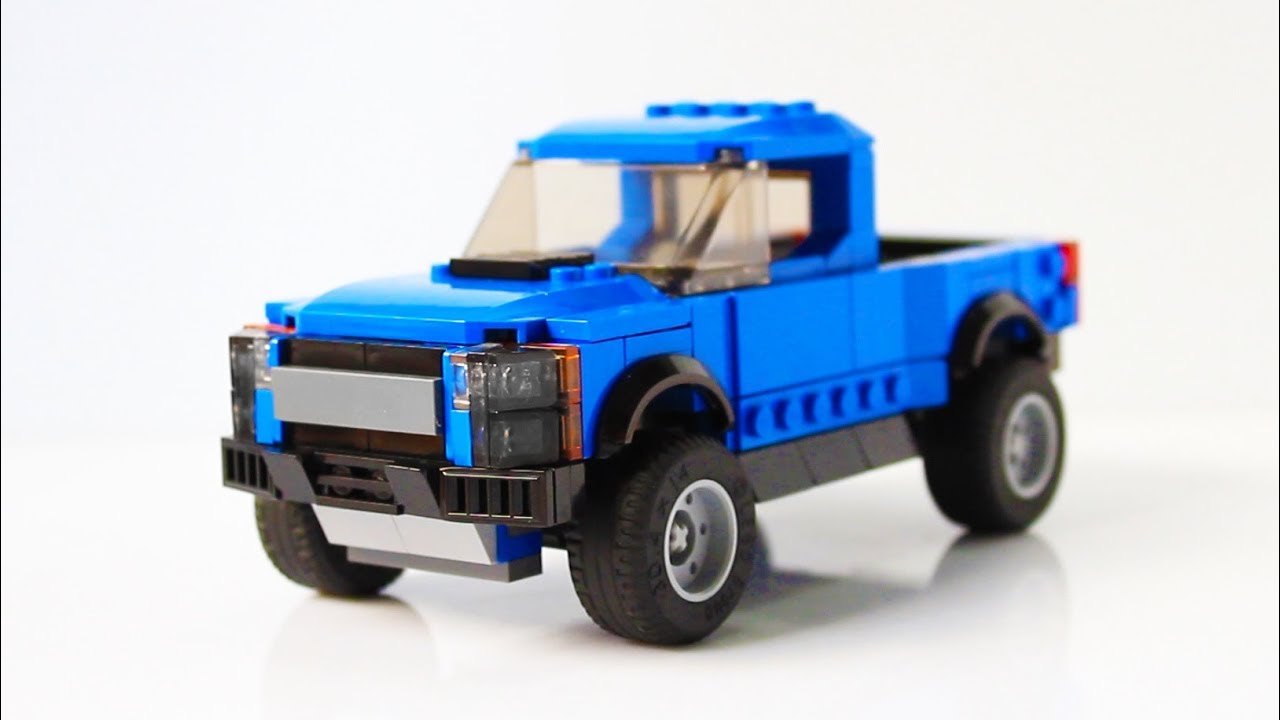 Shelby Truck 2017 >> Lego Ford F-150 Raptor Speed Champions 75875 MOD - YouTube