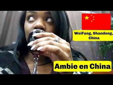 Black Girl In A Small Town In China | Vlog (WeiFang, Shandong Province)